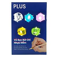 Vỏ Bọc Bút Chì Nhựa Mềm - Set 5 Cái - Plus-690-V002