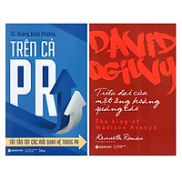 Combo 2 Cuốn Sách Hay Về Marketing - Bán Hàng: Trên Cả PR - Tất Tần Tật Các Mối Quan Hệ Trong PR + David Ogilvy - Triều Đại Của Một Ông Hoàng Quảng Cáo
