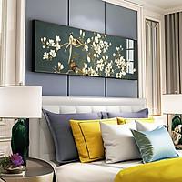 Tranh canvas khổ lớn trang trí phòng ngủ