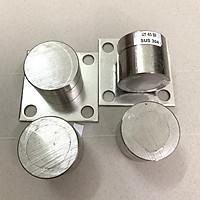 Bản lề cối xoay cửa cổng chịu lực - Chất liệu Inox 304 Ø45 (Bộ 4) - Dùng cho cửa 2 cánh