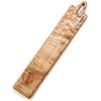 Khay chữ nhật dài 65x12 cm, gỗ thích Blu Legno