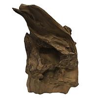 Gỗ lũa ngọc am tự nhiên phong thủy Mã 43 (34cm x 21cm)
