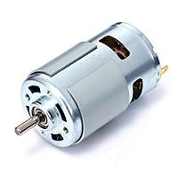 Motor 775 đảm bảo đủ 120W, dây đồng, 12V-14000 vòng/ph, có bạc đạn: Chế máy cưa, máy cắt, máy mài, ô tô, tàu thuyền