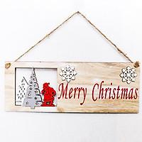 Móc Treo Cửa Trang Trí Giáng Sinh Merry Christmas Hoa Tuyết