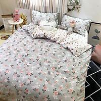 Bộ drap và chăn chần cotton NaMi L03
