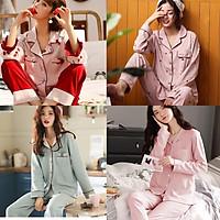Pijama Sau Sinh Cotton 100% Đẹp, Tôn Dáng (Ảnh + Video Thật)