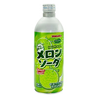 3 Chai Nước Soda Dưa Lưới Sangaria Nhật Bản (500ml x 3)