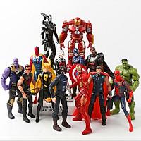 Trọn bộ mô hình Anime Avengers thế hệ 2 14 liên minh