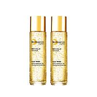 Combo 2 Nước dưỡng ngăn ngừa lão hóa vàng 24k Bio-Gold Bio-essence 150ml/chai