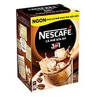 Hộp 10 Gói Nescafé Cà Phê Sữa Đá 3in1 (20g...