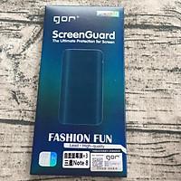 Bộ 4 miếng dán dẻo Gor Samsung Note 8 (3 dán trước+1 dán sau cacbon) - Hàng nhập khẩu