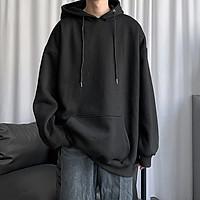 Áo Hoodie Nỉ Bông Trơn  Unisex 5 màu (nam nữ đều mặc được)