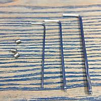 Bộ 3 lục giác bi 1.5mm, 2.0mm và 2.5mm Asaki