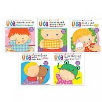 Bộ Sách Ú Òa - Sách Lật Song Ngữ Anh - Việt - Dành cho trẻ từ 1-5 tuổi (Trọn Bộ 5 Cuốn)