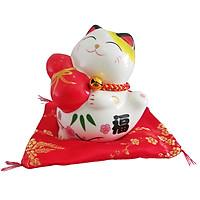 Mèo Thần Tài Hồ Lô Thọ Phúc - Nhỏ nhỏ Xinh xinh mang lại may mắn cho gia chủ có khe để bỏ tiền tiết kiệm một sản phẩm tặng cho các cháu nhỏ thay cho heo đât