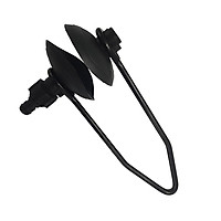 Outboard Boat Marine Single Water Flow Motor Flusher Round Ear Muff Cup