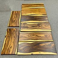 Mặt bàn dài gỗ me tây nguyên tấm tự nhiên