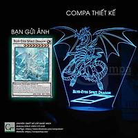 Đèn Ngủ Yugi-Oh Rồng Trắng Mắt Xanh Type 03