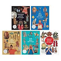 Các Nền Văn Minh Thế Giới - Lịch Sử Cổ Đại (Trọn Bộ 5 Tập) Tặng Bộ truyện Cổ Tích Song Ngữ Anh Việt