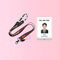 Combo dây đeo thẻ EXO và card đeo thẻ D.O EXO