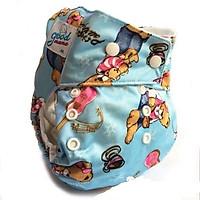tã vải goodmama siêu chống tràn cao cấp cho bé 10-20 kg ( bỉm vải )