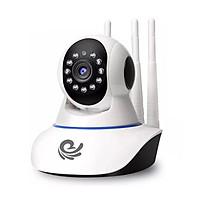 Camera ip Wifi Carecam 3 Anten 2.0MP - Full HD 1080P Chính hãng - Xoay 360 Độ