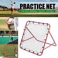 Details about  ?Pro Rebounder Net Football Training Adjustable Kickback Soccer Target Goal