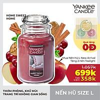 Nến hũ Yankee Candle  - Home Sweet Home - L (623g)