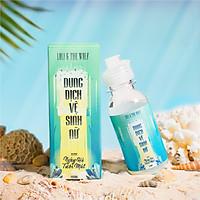 Dung dịch vệ sinh phụ nữ màu xanh mùi ngày hè tươi mát LOLI & THE WOLF (chai 100ml)