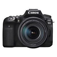 Máy ảnh Canon EOS 90D Body + Lens 18-135mm - Hàng chính hãng
