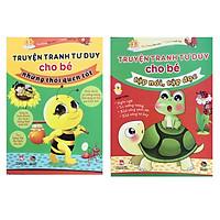 Combo Truyện tranh tư duy cho bé những thói quen tốt + Truyện tranh tư duy cho bé tập nói,tập đọc