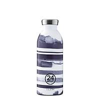Bình giữ nhiệt chân không 24 Bottles Clima, dung tích 500ml, họa tiết kẻ