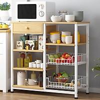 Kệ để lò vi sóng nhà bếp đa năng nhiều ngăn, kệ bếp, tủ bếp MGK005