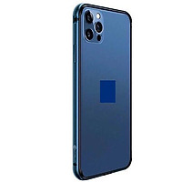 Ốp khung viền cạnh cho iPhone 12 (6.1) và 12 Pro (6.1) hiệu Coteetci Aluminum Tpu Bumper chống sốc - Hàng nhập khẩu