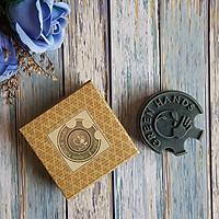 Xà phòng handmade FINGER SOAP than hoạt tính làm sạch sâu, giảm viêm nang lông, chống trơn - FINGER SOAP CHARCOAL ECOLIFE KOREA