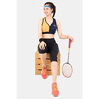 Bộ lửng thể thao nữ áo bra phối 2 màu DL13