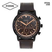 Đồng hồ nam FOSSIL dây da Goodwin FS5529 - màu nâu