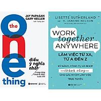 Combo The One Thing - Điều Ý Nghĩa Nhất Trong Từng Khoảnh Khắc Cuộc Đời + Làm Việc Từ Xa, Từ A Đến Z