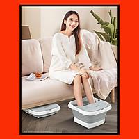 Bồn ngâm massage chân LEK-818T Hàng Chính Hãng tặng kèm túi thuốc ngâm chân massage