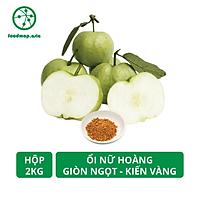 Ổi Nữ Hoàng Kiến Vàng Giòn Ngọt, Giàu VitaminC - Hộp 2kg - Foodmap