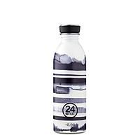 Bình nước  24 Bottles Urban, dung tích 500ml, họa tiết kẻ