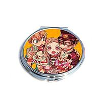 Gương Jibaku Shounen Hanako-kun Ác quỷ trong nhà xí anime chibi gương bỏ túi cầm tay 2 mặt dễ thương tiện lợi quà tặng độc đáo