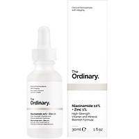 Tinh chất ngừa mụn thâm The Ordinary Niacinamide 10% + Zinc 1%