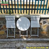 Bàn ghế cafe Kala cho ban công hoặc sân vườn