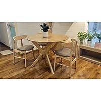 Bộ bàn tròn Moonlight 4 ghế