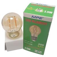 Bóng đèn LED dây tóc Edison MPE 2.5W - E27 Ø45 - Ánh sáng vàng 2700K