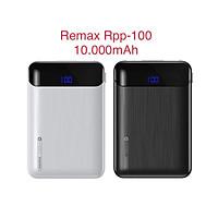 Pin sạc dự phòng Remax RPP-100 10000mAh Mini, 2 cổng input / output,HÀNG CHÍNH HÃNG
