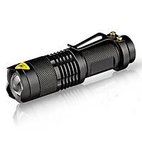 Đèn pin mini led zoom siêu sáng SK68  đã bao gồm pin+sạc pin