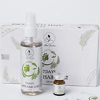 Bộ Xịt Kích Mọc Tóc  Giảm Rụng Tóc Mini Garden - 7 Days Anti Hairlost 120ml