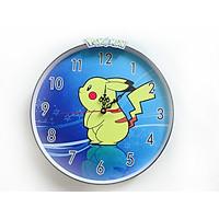 Đồng hồ trang trí treo tường độc đáo POKEMON 001, kim trôi, không gây tiếng ồn, sản xuất thủ công